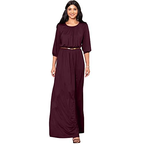Long Modest Dresses: Amazon.c