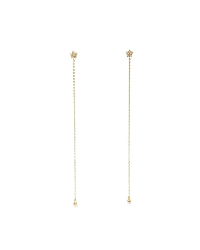 Shooting Star Drop Earrings (Long) | Reebonz United Stat