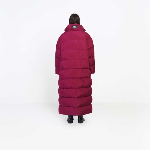 Long Puffer Coat for Men | Balencia