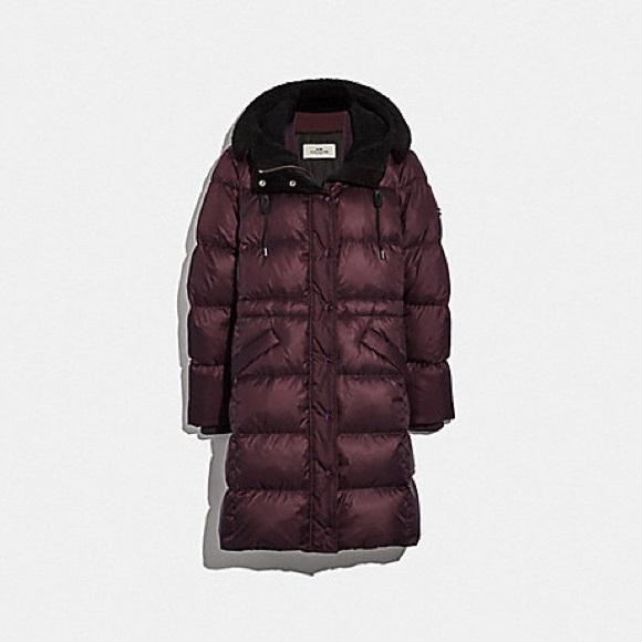 Coach Jackets & Coats | Long Puffer Jacket | Poshma