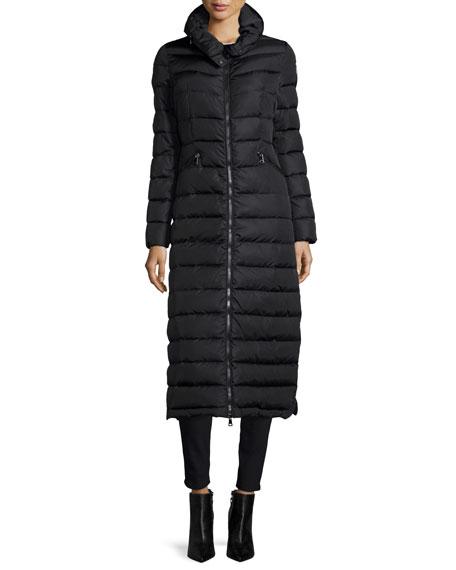 Moncler Flammong Long Puffer Coat | Neiman Marc