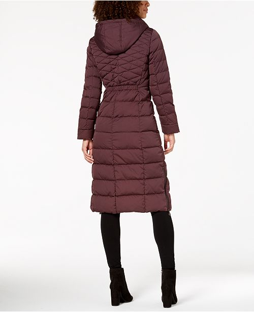 Bernardo Maxi Puffer Coat & Reviews - Coats - Women - Macy