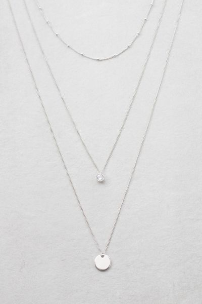 Voyage Layered Necklace   Silver in 2020   Layered necklaces .