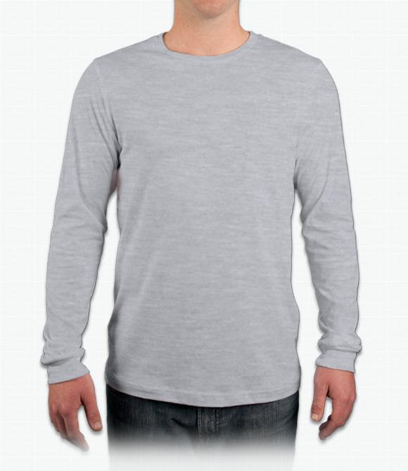 Custom Canvas Filmore Long-Sleeve T-Shirt - Design Onli