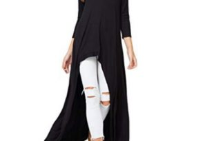 Sweaters | Annabelle Casual Long Maxi Tunic Tops | Poshma
