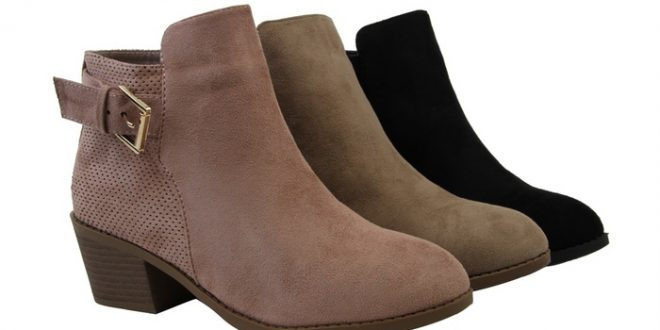 Up To 60% Off on Women Fashion Ankle Boots Cut... | Groupon Goo