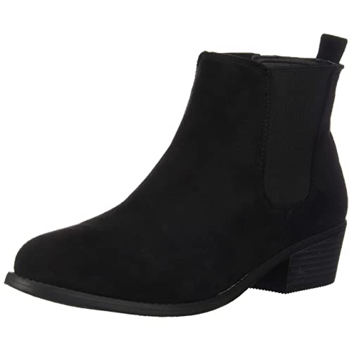 Black Low Boots: Amazon.c
