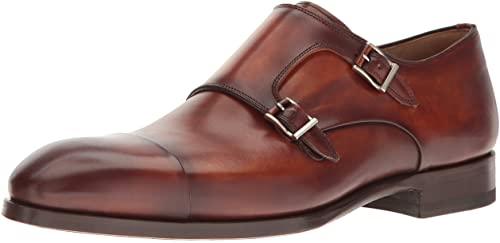 Amazon.com: Magnanni Louie Cognac Men's Monk Strap Shoes: Sho