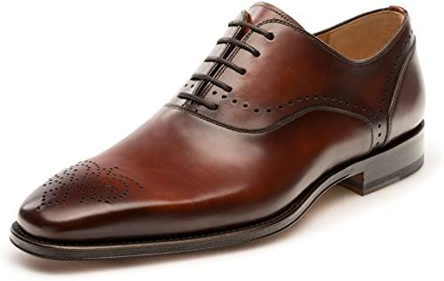 Amazon.com: Magnanni Preston Cognac Men's Lace-up Shoes: Sho