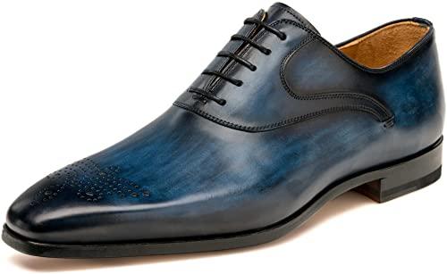 Amazon.com: Magnanni Men's Anso Oxford Shoe: Sho