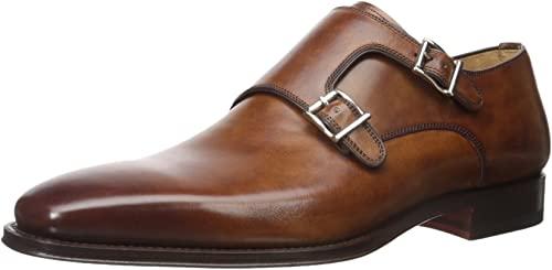 Amazon.com: Magnanni Miro Black Men's Monk Strap Shoes: Sho