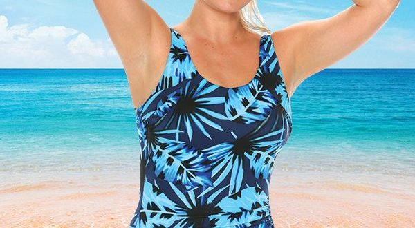 T.H.E. Mastectomy Swimsuit - Modesty Panel | W