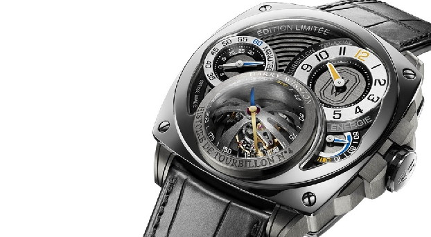 Best mechanical watches of 2015 – unique Harry Winston tourbill