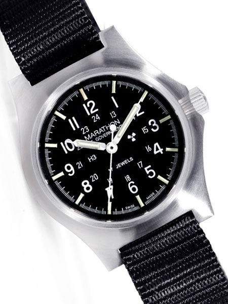 Marathon Mechanical General Purpose Field Watch with a sapphire .