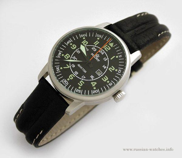 Russian mechanical watch POLJOT AVIATOR Z2014A-3 | Russian Watch