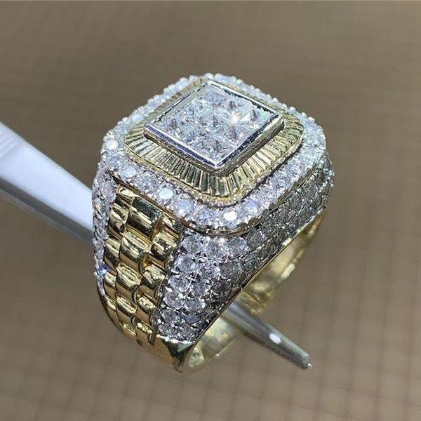 2020 Hip Hop Diamond Ring Championship Rings Men Rings Mens New .