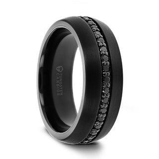 Shop Thorsten Valiant | Tungsten Rings for Men | Black Tungsten .