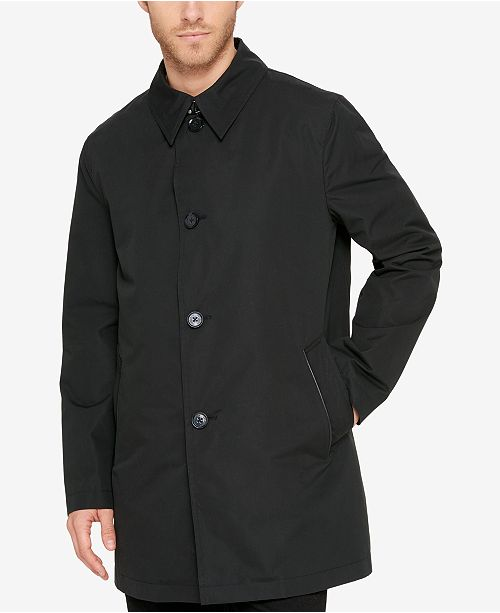 Cole Haan Men's Car Coat With Removable Liner & Reviews - Coats .