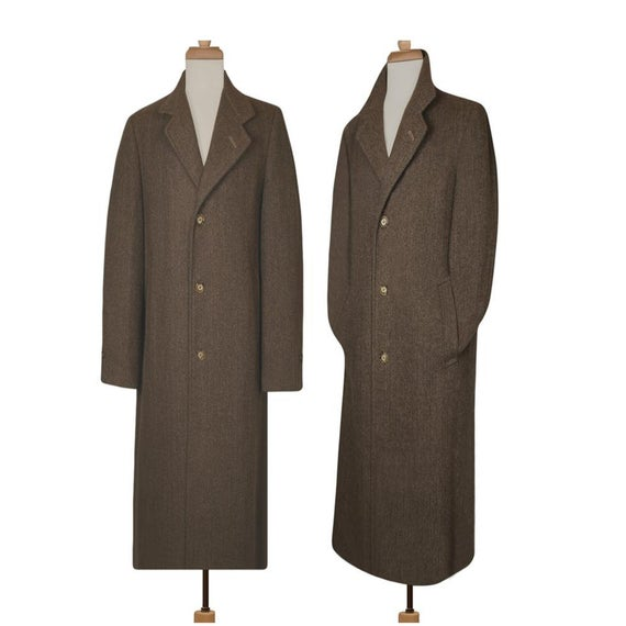Men's Long Coat Wool Coat Winter Coat Long Wool Coat | Et