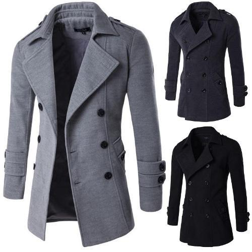 Sophisticated Men's Fashion Coat - STYLE BROS CLOTHI