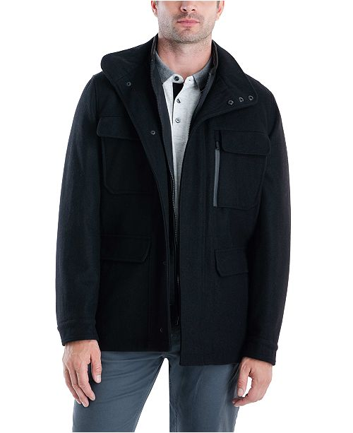 Michael Kors Men's Mayfield Field Coat, Created for Macy's .