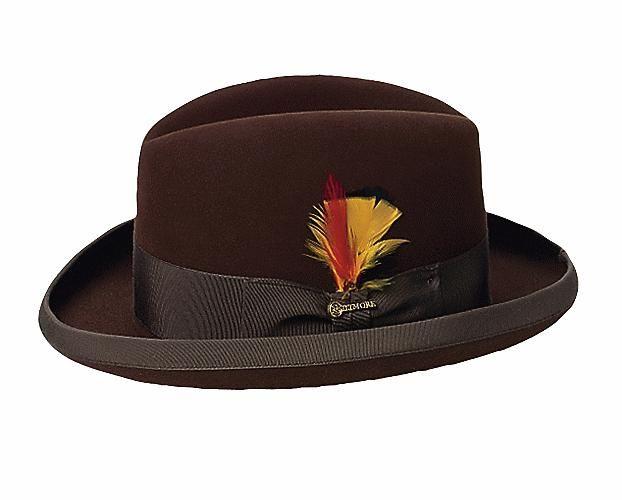 Classic homburg | Mens dress hats, Men dre