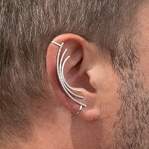 Amazon.com: Mens earring, men's earring, mens ear cuff for men .