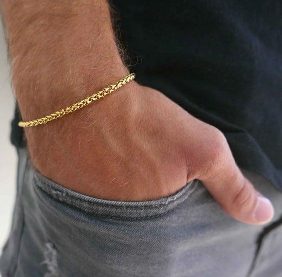 Men's Bracelet Men's Gold Bracelets Men's | Et
