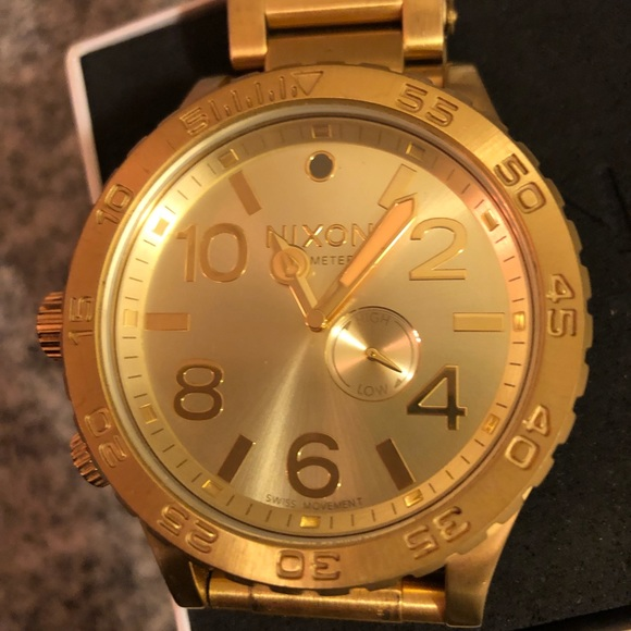 Nixon Accessories | Mens Gold Watch Limited Edition | Poshma