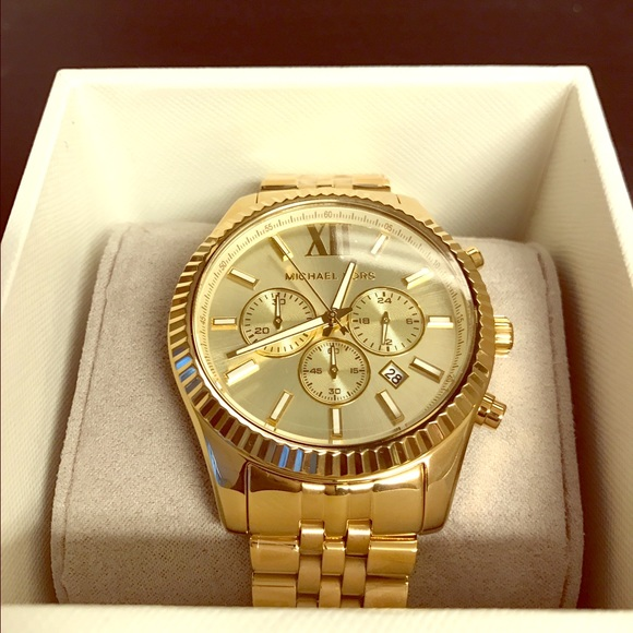 Michael Kors Accessories | Mens Gold Watch | Poshma