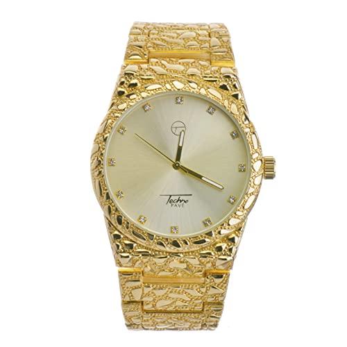 Men's 14k Gold Watch: Amazon.c