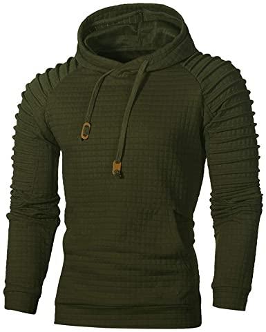Amazon.com: Hoodies for Men,Men's Tops Casual Pullover Hoodie .