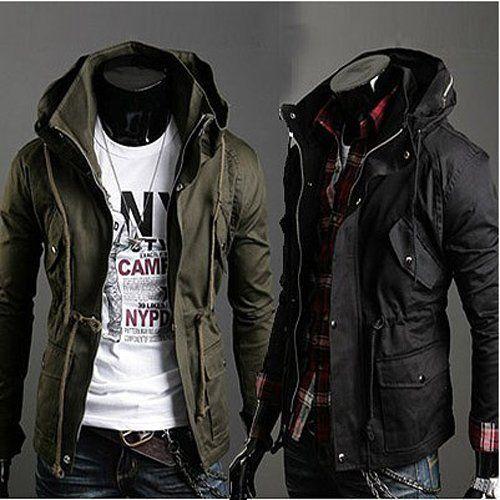 Casual Jackets For Men (Dengan gambar) | Pakaian pria, Mantel pria .