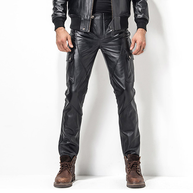 How to rock them Men's Leather Pants – thefashiontamer.c