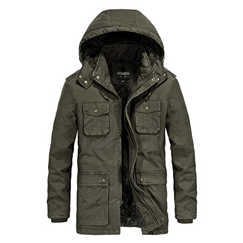 Men's Parka Jacket: Amazon.c