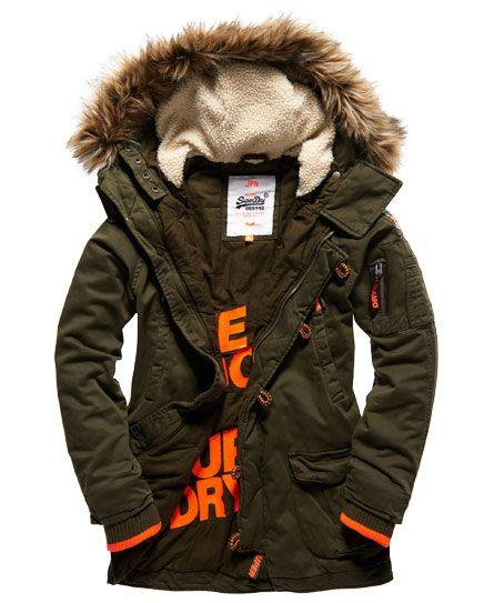 Superdry Rookie Heavy Weather Parka Jacket | Mens parka jacket .