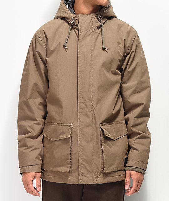 RVCA Wood Puffer Parka Jacket | Zumi