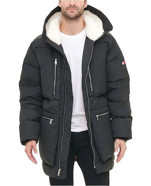 Tommy Hilfiger Men's Hooded Parka Jacket & Reviews - Coats .