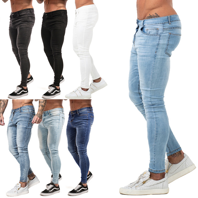 Mens Skinny Jeans 2019 Super Skinny Jeans Men Non Ripped Stretch .