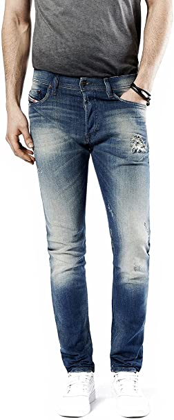 Amazon.com: Diesel Mens Stretch Jeans Tepphar 0854V Dirty Used .