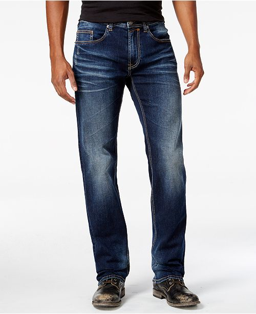 Buffalo David Bitton Men's Relaxed Straight Fit Driven-X Stretch .