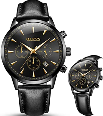 Amazon.com: Watches for Men on Sale Clearance,Black Mens Big Face .