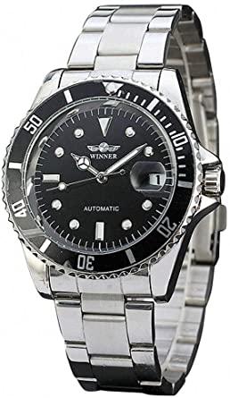 Amazon.com: Mens Automatic Watches Winner Luxury Brand Full .