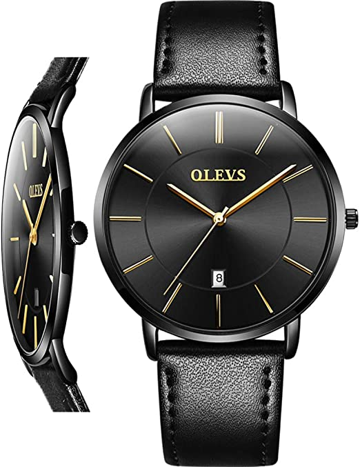 Amazon.com: Thin Mens Watch,Simple Watches for Men,Dress Man Watch .