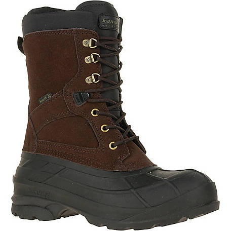 Kamik Men's NationPlus Waterproof Leather Winter Boot at Tractor .