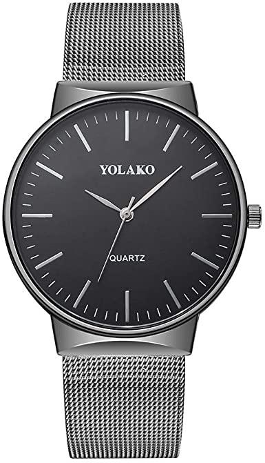 Amazon.com: YOLAKO Men's Wrist Watch,Alalaso Business Quartz .