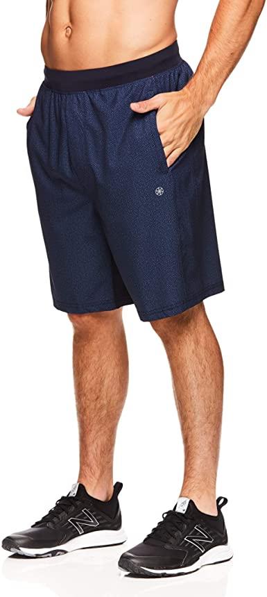 Amazon.com: Gaiam Men's Yoga Shorts - Performance Heather Gym .