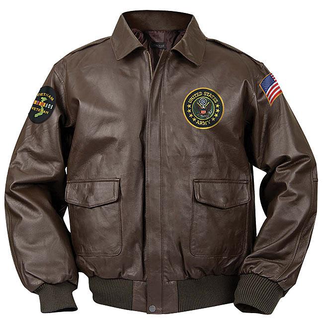 U.S. Military Service Elite Bomber Jacket | Vetcom.com .