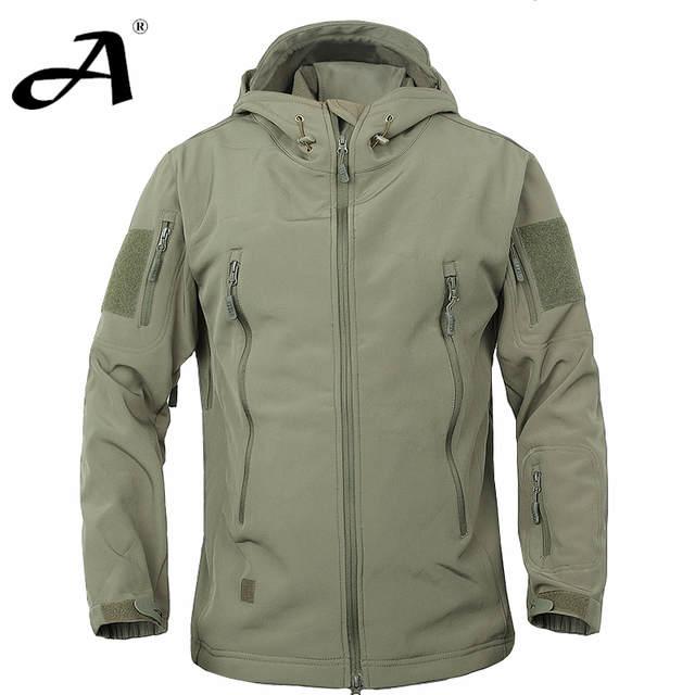 Army Camouflage Coat Military Jacket Waterproof Windbreaker .