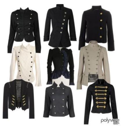 military style jackets for women | Стиль милитари, Средневековая .